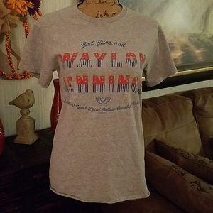 Waylon Jennings tshirt